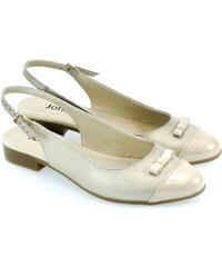 a3148f31242d JOHN-C Dámske zlaté sandále EVELIN 36