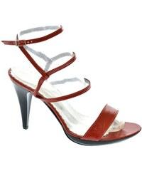 18077858bd JOHN-C Dámske červené sandále LIANS 35