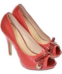 542a0e597c78 Červené Dámske topánky Zlacnené nad 50% z obchodu John-C.sk - Glami.sk