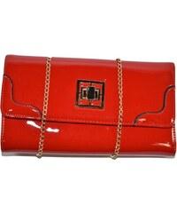 ad040a2796 JOHN-C Dámska červená lakovaná kabelka ODIANA