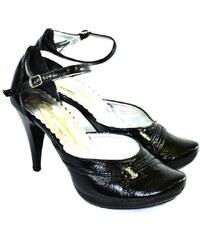 aec758d67ac2 JOHN-C Dámske čierné sandále RIVESA 35