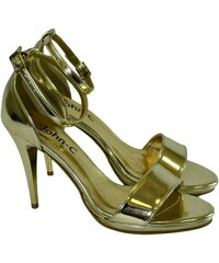 3d370ee2528d JOHN-C Dámske zlaté sandále ROSARIA 35