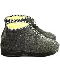 5ed760174ee1 JOHN-C Dámske sivé papuče PIXI 36
