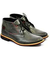 9acbebf660 Tom Tailor Šnurovacie zimné topánky vysoké sivá - Glami.sk