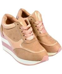 9ae37b9dc604 COMER Dámske ružové topánky SPLIT 35