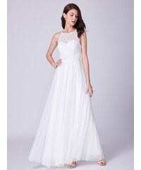 Ever Pretty úchvatné bílé šaty 7514 fa4cecf636