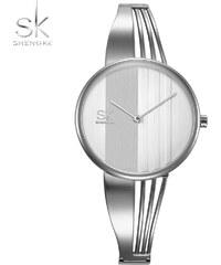 SK Shengke hodinky Nadčasová elegance K0062 L01 SILVER d5d634965d