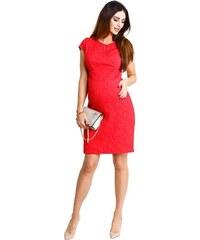 4de8f48772a4 Happymum Tehotenské šaty Red hot dress d929