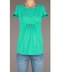 Branco Zelený tehotenský top s prekrížením na dojčenie 1132 M 6c506ae0c1