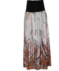 Radka Kudrnová Těhotenská letní dlouhá jemná splývavá sukně a0533caf2b