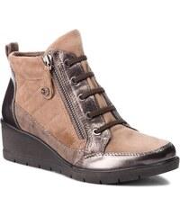 Členková obuv TAMARIS - 1-25224-21 Taupe Comb 344 1cbd258bb7f