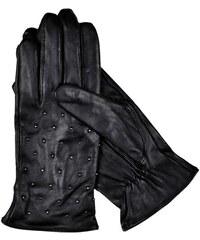 1608e19c185 Top Secret Rukavice dámské černé kožené
