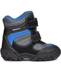 db03fd950bbee Geox Chlapčenské zimné topánky Gulp - čierno-modré