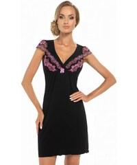 e035f7bdf21 Donna Aura černá Noční košile