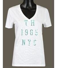 Tommy Hilfiger dámské tričko v-neck 681112 5efe5d8e895