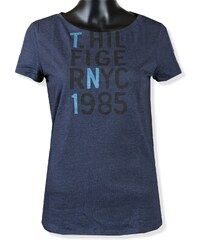 Kolekcia Tommy Hilfiger Modré Dámske topy 005c521e78a