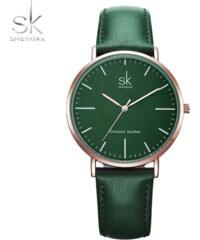 f74ebee2ac9 SK Shengke hodinky Luxury Green K0082 GREEN
