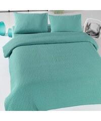 Bonami Green Pique zöld könnyű ágytakaró 01ed3ae547