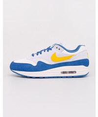 4988b34d7f3 Nike Air Max 1 Sail  Amarillo- Pure Platinum- Signal Blue