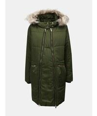Zelená prešívaná zimná tehotenská bunda Mama.licious 67c9e5657a8