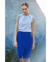 3eb746cb5b1f Kráľovská modrá sukňa Style 127