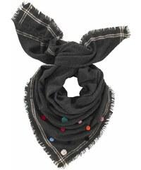 Baťa Černý šátek s třásněmi - Glami.cz 01bf31d288