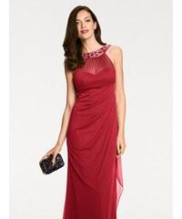 7c72efc04277 heine TIMELESS Večerné šaty s aplikáciami červená