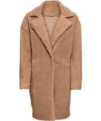bonprix Kabát v plyšovém vzhledu 67c36332d1