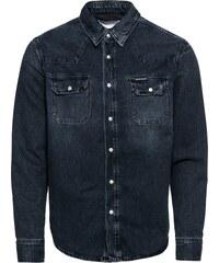 290e0f7eab Calvin Klein Jeans Košeľa  ARCHIVE WESTERN  Modré