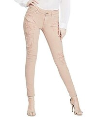 f4764b07618 GUESS rifle Sexy Curve Skinny Jeans rose
