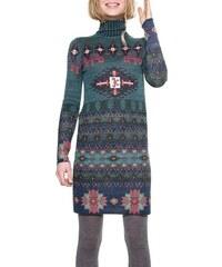 Desigual svetrové šaty s rolákom Conney 041ba82fdac