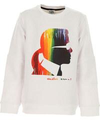 Karl Lagerfeld Dětské mikiny s kapucí   mikiny pro holky Ve výprodeji 28cbbda5b1