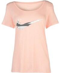 e176404ccb2f Triko Nike Swoosh QTT T Shirt dámské Pink