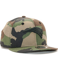 Dětská Kšiltovka New Era 9FIFTY Camo New England Patriots Youth Woodland  Camo Black Snapback 5a89de04be
