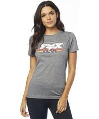 73d8a4a460 Dámské tričko Fox Retro Crew heather graphite