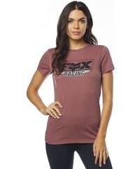 65dc5f0059fa Dámské tričko Fox Retro Crew heather graphite - Glami.cz