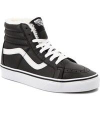6309584526 Sneakersy VANS - Sk8-Hi Reissue VN0A2XSBEU11 (Leather Fleece) Blk Trwht