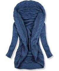 2e76fd10e857 Butikovo Jeans modrý pletený sveter