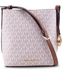 Michael Kors Kimberly SM Bucket Bag Kabelka vanilla s monogramem 704179d3071