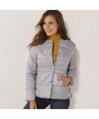 924f2c4c2d85 Vypredaj-zlavy.sk Prešívaná bunda jednofarebná sivá