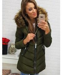 4a0915af23f8 Brand Dámska bunda na zimu (ty0283) - zelená