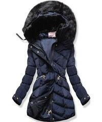 MODOVO Dámska zimná bunda s kapucňou S603 khaki - Glami.sk e9c3079d818