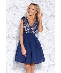 BICOTONE Dámské šaty Karkulka tmavě modré 13004aa101