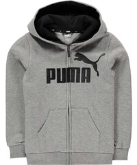 Mikina Puma No 1 Logo Zip Hoodie Junior Boys d00458ba95e