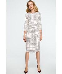 57ede0c10473 Vzorované šaty Style 118