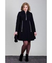 Čierne Elegantné Dámske kabáty z obchodu Omnimoda.sk - Glami.sk 5fd0ec46269