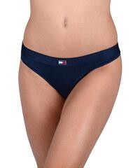 bcd9a4ddffd Tommy Hilfiger Dámské kalhotky Flag Core Ctn Thong Navy Blazer UW0UW01051- 416
