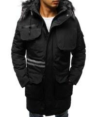 Manstyle Férfi elegáns téli kabát (parka) 0dbd9b824f