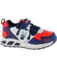 Disney by Arnetta Chlapčenské svietiace tenisky Mickey Mouse - modré 0a30efe12b