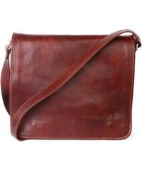 ITALSKÉ Pánské kožené kabelky Marco hnědé 2ed097011b5